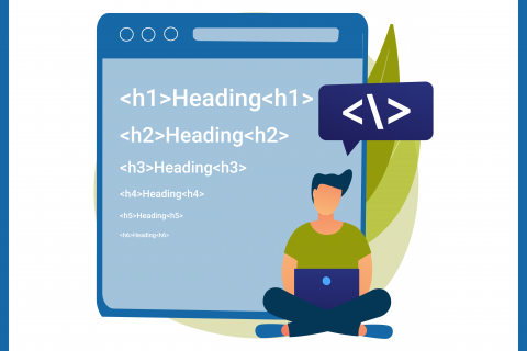 Headings and Hierarchy Blog Graphic