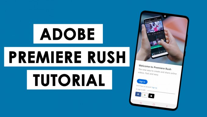 Adobe Premiere Rush Tutorial Thumbnail