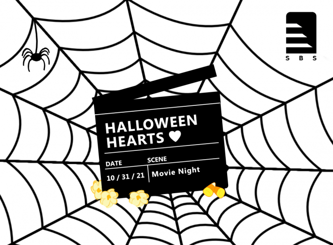 SBS Halloween Hearts with Spider